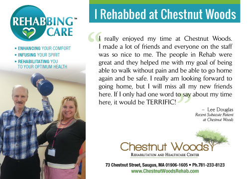 Rehabbing Care Chestnut Woods Marquis Health Services