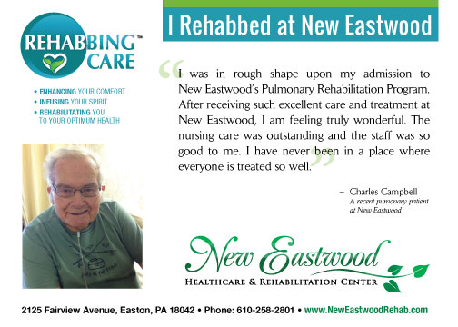 Rehabbing Care New Eastwood Marquis Health Services