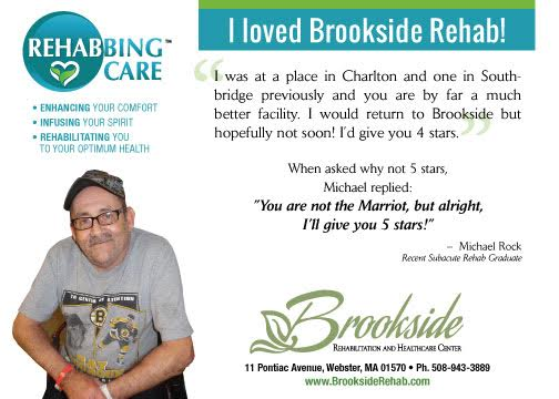 Rehabbing Care Brookside Marquis Health Services