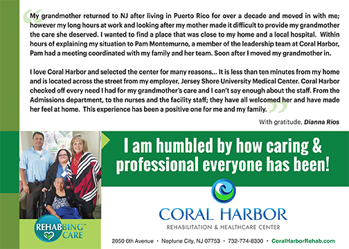 Rehabbing Care Coral Harbor Marquis Health Services